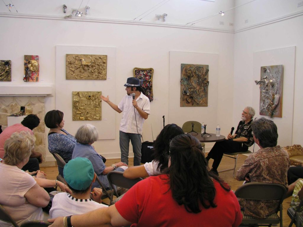 David Rubin & Raul Castellanos, a Dialog 8/28/2010