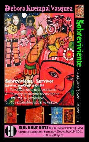 Sobreviviente exhibit
