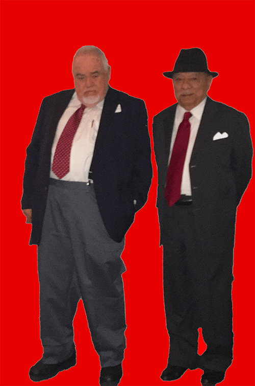 Dr. Tomás Ybarra-Frausto and Mr. Dudley Brooks.