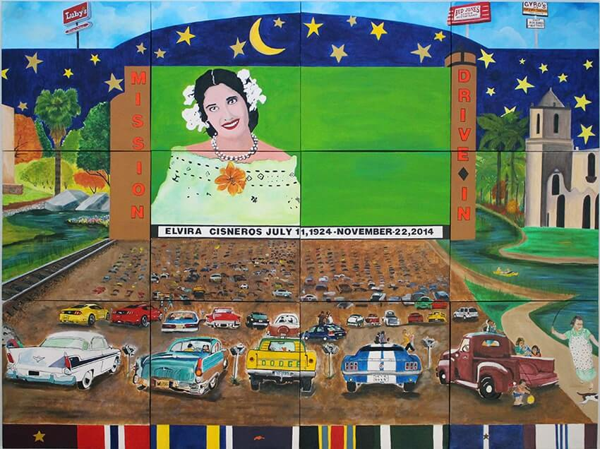 Cisneros Tricentennial Mural