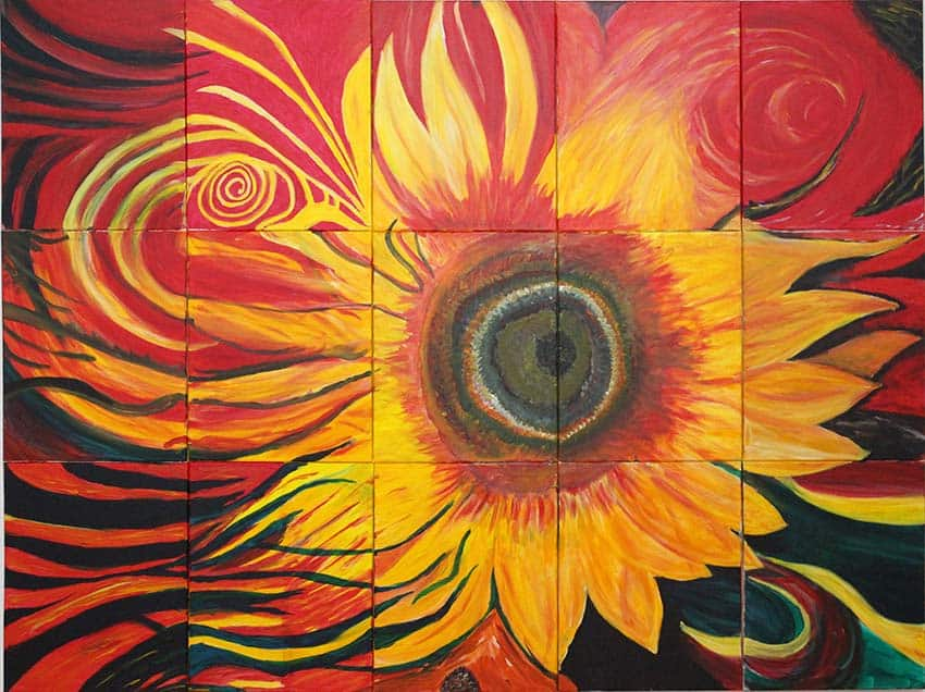 West End Sunflower Mural