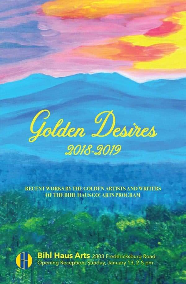 Golden Desires Art Opening