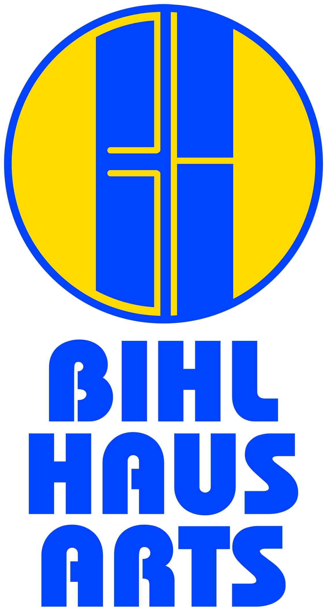 Bihl Haus Arts Logo Vertical Large