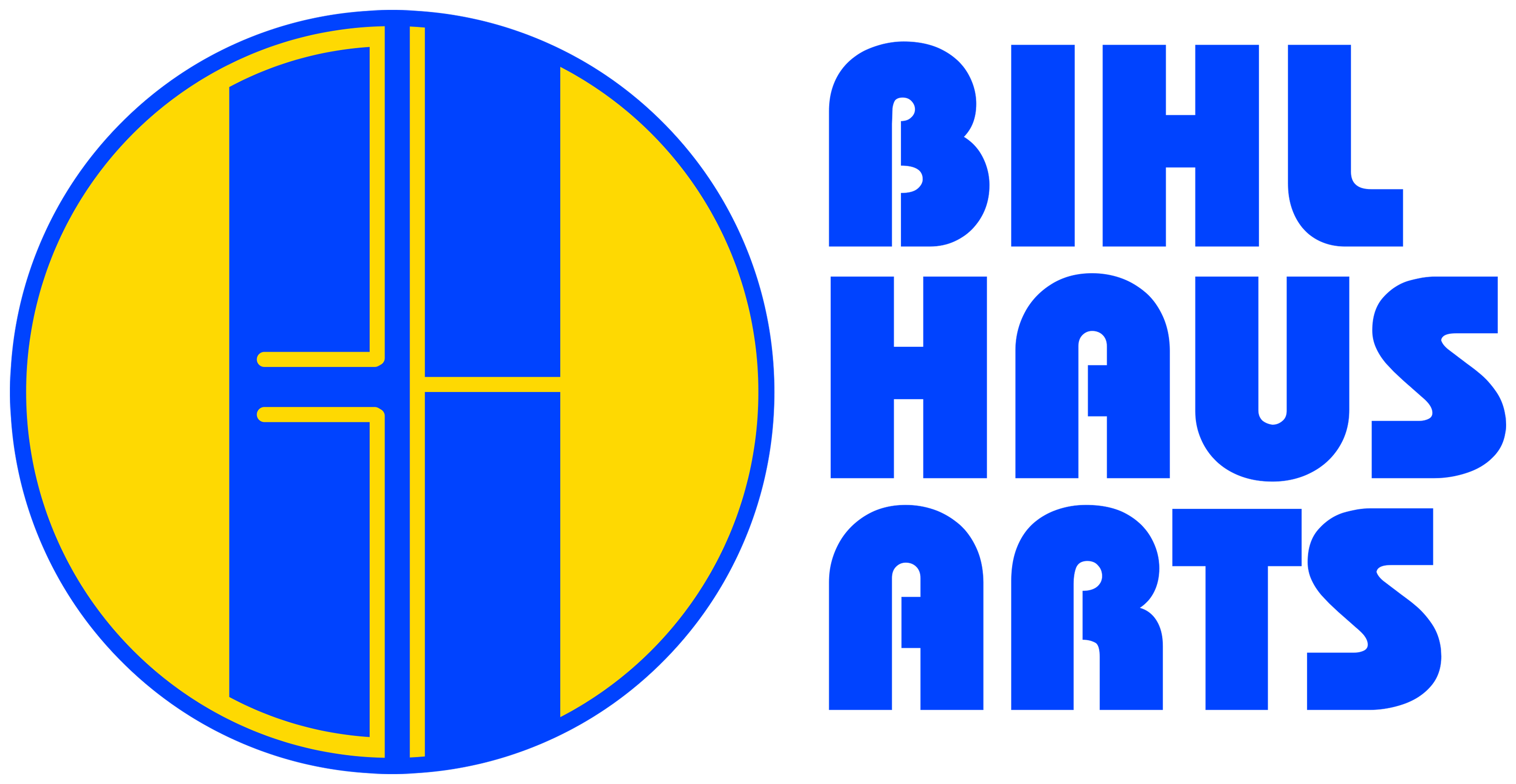 Bihl Haus Arts Logo Large